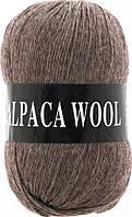 Пряжа Альпака вул Alpaca wool Vita, 2975, мокко
