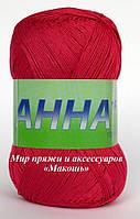 Пряжа Анна 16 Сеам, № 319,  экстравагантный розовый