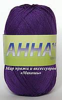 Пряжа Анна 16 Сеам, № 328, фиолет