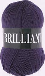 Пряжа Брильянт Brilliant Vita, 4977, т. фиолетовый