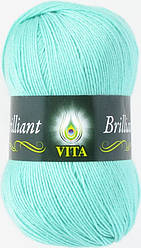 Пряжа Брильянт Brilliant Vita, 4992, св. бирюза