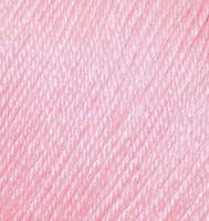 Пряжа зимняя для ручного вязания Бэби вул, 185, розовый