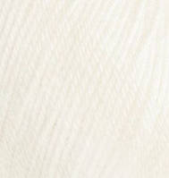 Пряжа зимняя для ручного вязания Бэби вул, 62, молочный