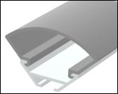 LED-профиль ЛСУ (анодированный) 2м.