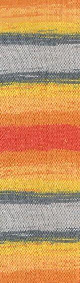Пряжа Коттон голд батик Cotton Gold batik Alize, № 5508