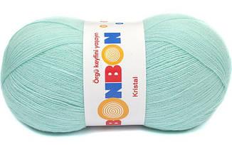Пряжа Кристал Бон-бон Kristal Bonbon Nako, № 98203, небесно-голубой