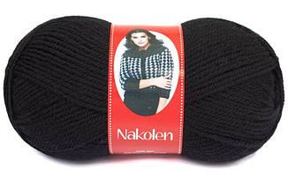 Пряжа Наколен Nakolen Nako,  № 217, черный