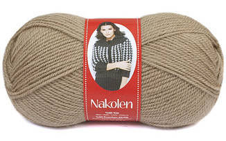 Пряжа Наколен Nakolen Nako,  № 257, кофе