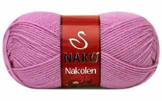 Пряжа Наколен Nakolen Nako, № 1249, розово-сиреневый