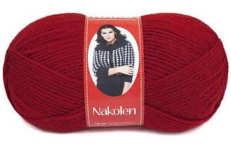 Пряжа Наколен Nakolen Nako, № 1175, красный