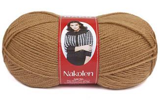 Пряжа Наколен Nakolen Nako, № 221, т.бежевый