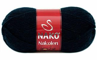 Пряжа Наколен Nakolen Nako, № 3088, т.синий