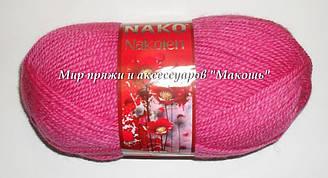 Пряжа Наколен Nakolen Nako, № 3658, малиновый