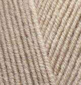 Пряжа полушерстяная Лана голд  Lanagold, № 05, беж