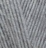 Пряжа полушерстяная Лана голд  Lanagold, № 21, серый меланж