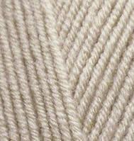 Пряжа полушерстяная Лана голд  Lanagold, № 585, камень