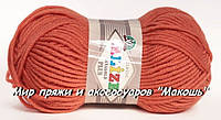 Пряжа полушерстяная Лана голд плюс  Lanagold Plus, № 154, коралл
