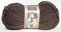 Пряжа полушерстяная Лана голд плюс  Lanagold Plus, № 240, св. коричневый