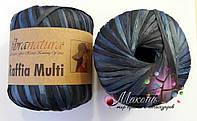 Пряжа Рафия мульти Raffia multi Fibranatura, 117-07