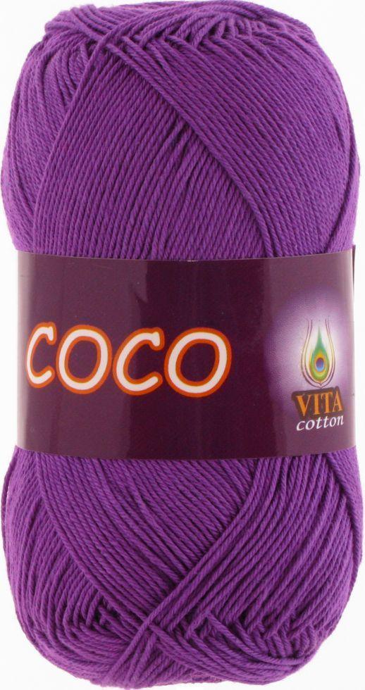 Пряжа Сосо, № 3888,  фиолетовый