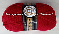 Пряжа Стар Star Madame Tricote, № 033, красный