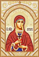 Св. Мч.Наталья, РИК-6142, Ткань с рисунком для вышивания бисером (иконы)