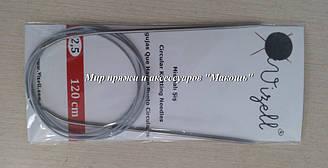 Спицы металические круговые на троссе Vizell, 120 см, № 2.5