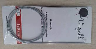 Спицы металические круговые на троссе Vizell, 120 см, № 3