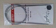 Спицы металические круговые на троссе Vizell, 120 см, № 3.5