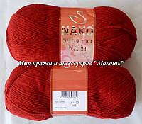 Супер инси нарин Super inci narin Нако, № 1175, красный