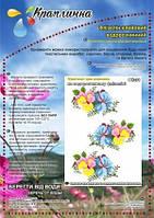 Схема вышивки на водорастворимом флизелине, ФК-31