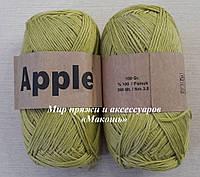 Хлопковая пряжа Apple, зеленый