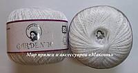 Хлопковая пряжа Гарден Garden Nazli Gelin, 700-01, белый