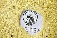 Хлопковая пряжа Гарден Garden Nazli Gelin, 700-04, св. желтый
