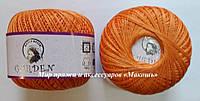 Хлопковая пряжа Гарден Garden Nazli Gelin, 700-27, оранжевый
