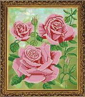 Царица цветов, схема для вышивки бисером