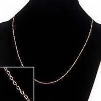 Цепочка Xuping, плетение Сердце, L-45с  s-1,2мм цвет золото