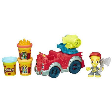 Творчество и рукоделие «Hasbro» (B3416) набор для лепки Город Пожарная машина, фото 2