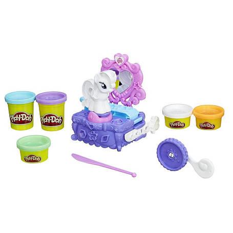 Творчество и рукоделие «Hasbro» (B3400) набор для лепки Туалетный столик Рарити, фото 2