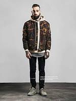 Мужской камуфляжный бомбер camo jacket