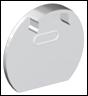 Заглушка для LED-профилей  ЛСК