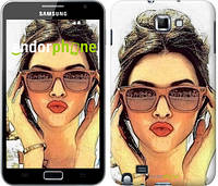 """Чехол на Samsung Galaxy Note i9220 Девушка_арт """"3005u-316"""""""