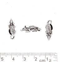 Фурнитура подвеска Крыса цвет металла серебро