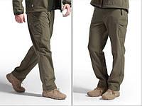 Тактические, ветрозащитные, влогостойкие брюки SOFT SHELL
