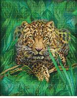"""Схема для вишивки бісером """"Леопард"""" М-75"""