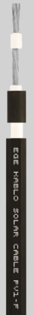 Кабель для сонячних батарей EGE Kablo Solar PV1-F 6.00 мм²