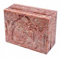 Шкатулка каменная Будда #2
