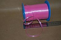 Лента полипропиленовая 5 мм розовая