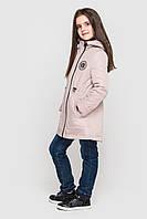 Детская демисезонная куртка парка Влада на девочку размеры 128 -158 Плащевка на силиконе