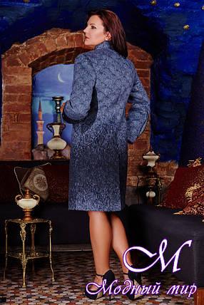 Женское теплое весеннее пальто больших размеров (р. 50-60) арт. В - 665 Тон 114, фото 2